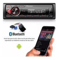 Aparelho Som Bluetooth Pendrive Rádio Pioneer P/ Fiat Linea -