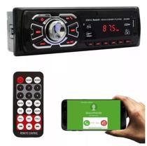 Aparelho Som Para Carro Radio Mp3 Bluetooth Controle Usb - Ruchi -