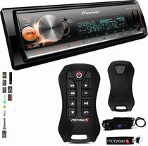 Aparelho Som Pioneer Bluetooth Usb Mvh-x300br + Controle Sx2 -