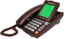 Aparelho Telefone C/ Fio ID Viva Voz MT-129 Maxtel (Cor: Vinho) -