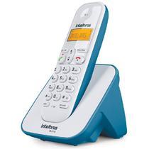 Aparelho Telefone Fixo Sem Fio Bina Com Pilhas Alta Duração - Intelbras