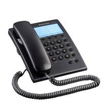 Aparelho telefonico com fio panasonic Kx-t7701 preto -