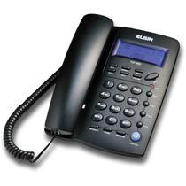 Aparelho Telefonico com Fio TCF-3000 C/ID.CHAMADAS Preto - Elgin