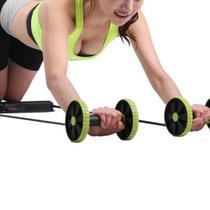 Aparelho Treino Abdominal Musculação Biceps Triceps Roda Abs - Cosmo - Revoflex