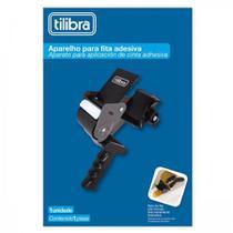 Aplicador de fitas c/16 rolos de fitas 48x40 preto - Tilibra