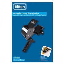 Aplicador de fitas c/16 rolos de fitas 48x40 preto - Tilibra -