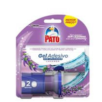 Aplicador Sanitário Pato Gel Adesivo + Refil Lavanda 12,7g -