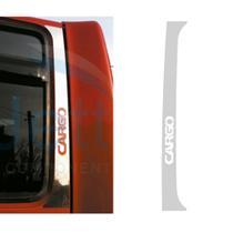 Aplique Coluna da Porta Ford Cargo Antigo Inox - Par - Jetta Componentes