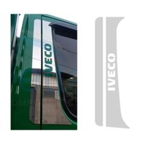 Aplique Coluna da Porta Iveco Daily Inox - Par - Jetta Componentes