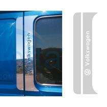 Aplique Coluna da Porta Vw Worker Inox - Par - Jetta Componentes