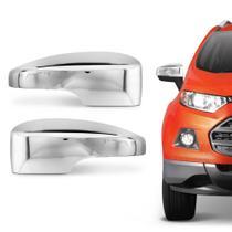 Aplique Cromado Capa Retrovisor Ecosport 2013 a 2019 - Ford