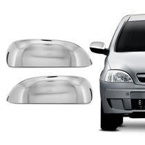 Aplique Cromado Capa Retrovisor GM Corsa Hatch e Sedan 2002 a 2012 Montana 2002 a 2010 - Serauto