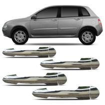 Aplique Cromado Da Maçaneta Fiat Stilo 02 4 Portas - Shekparts