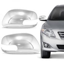 Aplique Cromado Do Retrovisor Corolla 08 Lado Esquerdo - Shekparts