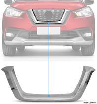 Aplique Cromado Grade Central Frontal Nissan Kicks PCD - CarLiza