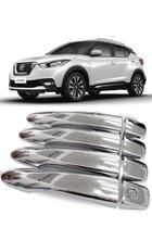 Aplique Cromado Maçaneta Nissan Kicks -