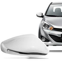 Aplique Cromado para Retrovisor Hyundai Hb20 2013 a 2015 com Pisca Lado Direito - Shekparts