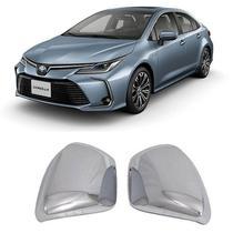 Aplique Cromado Retrovisor Corolla 2020 Par - Toyota