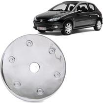 Aplique Cromado Tampa Combustivel Peugeot 206 207 98 A 10 - SHEKPARTS