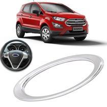 Aplique Cromado Volante Ford Fiesta Focus Ecosport -