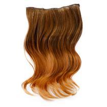 Aplique De Cabelo Ombre Extension Hairdo 40cm Avelã -
