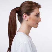 Aplique de cabelo Rabo de Cavalo Hairdo 46cm Cobre Escuro -
