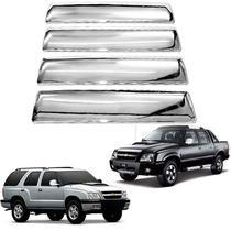 Aplique de Maçaneta Chevrolet S10 Blazer 1995 a 2011 Cromado - Shekparts