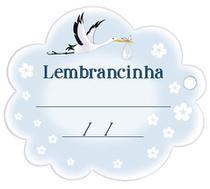 Aplique Decoupage Lembracinha Menino APM8-1017 em Papel e MDF 8cm Litoarte -