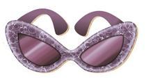 Aplique Decoupage Litoarte APM8-076 em Papel e MDF 8cm Óculos -