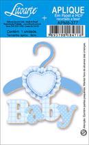 Aplique Decoupage Litoarte APM8-377 em Papel e MDF 8cm Baby -
