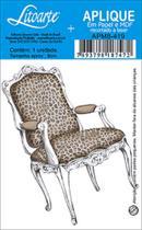 Aplique Decoupage Litoarte APM8-419 em Papel e MDF 8cm Cadeira -