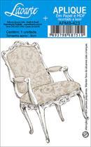 Aplique Decoupage Litoarte APM8-423 em Papel e MDF 8cm Cadeira -