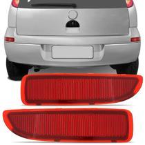 Aplique Defletor Para-Choque Traseiro Corsa Hatch 2003 2004 2005 2006 2007 2008 2009 Rubi - Mikron