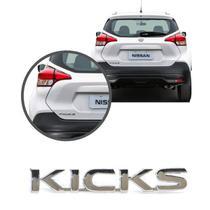 Aplique Emblema Logo Traseiro Kicks - NK - Brasil