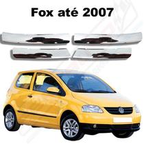 Aplique Friso Cromado Grade Dianteira Fox 2003 2010 Spacefox - Ferkauto
