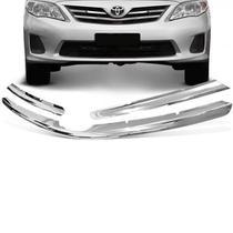 Aplique Grade Dianteira Corolla 2012 a 2014 Cromado ShekParts -