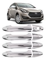 Aplique Hyundai Hb20 12/19 Maçaneta Cromado - Shekparts