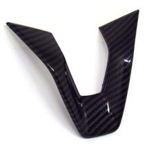 Aplique Inferior Do Volante Carbono 3d Winnparts Onix Plus Sedan 1.0 Turbo,mt,lt,ltz,premier onix -