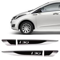 Aplique Lateral Hyundai I30 Emblema Resinado Do Para-Lama - Sportinox
