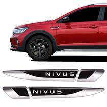 Aplique Lateral Nivus 2020 2021 Volkswagen Emblema Resinado - Sportinox