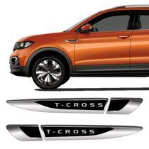 Aplique Lateral T-Cross 2020 Emblema Do Para-Lama Resinado - Sportinox