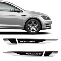 Aplique Lateral Volkswagen Gol Polo Up! Fox Emblema Cromado - Sportinox