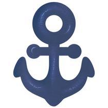 Aplique MDF e Papel Litoarte 3 cm - Modelo APM3-259 Barco, Navio e Âncora -