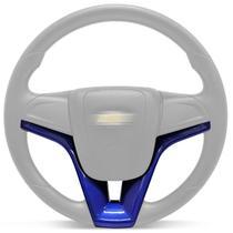 Aplique Moldura Volante Modelo Cruze Onix Azul - Cvd