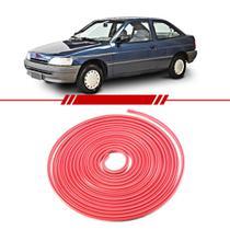 Aplique Parachoque Vermelho Escort 1993 A 1996 - Frisart