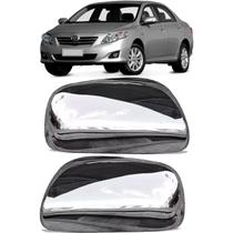 Aplique retrovisor s/ furo p/ pisca Corolla 2008 até 2012 - Flash