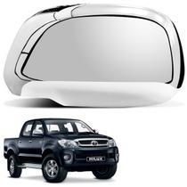Aplique Retrovisor Toyota Hilux 2005 a 2011 Cromado LD - Shekparts
