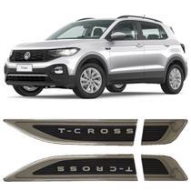 Aplique Tag Lateral Emblema Volkswagen T-Cross Tcross 2019 20 21 - Dg Marel