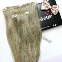 APLIQUE TIC TAC HUMANO Liso Yasmin 50 cm - Bella Hair