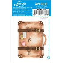 APM8-1299 - Aplique Em Papel E MDF - Kit Viagem Mala - Litoarte
